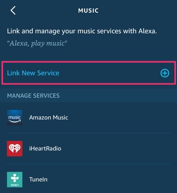 Guide: How-to Add Music Account (Apple Music, Spotify